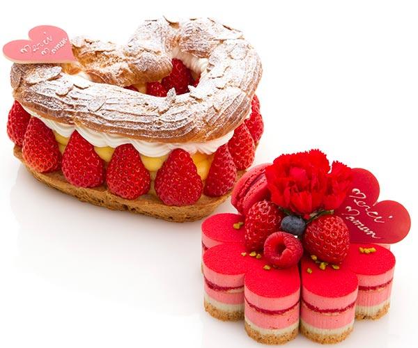 お花やハートをモチーフにしたケーキが華やか!今年の母の日はパティスリー・サダハル・アオキ・パリで決まり♡