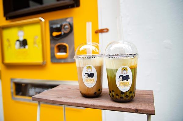 甘じょっぱさが癖になる♡黒糖チーズミルクティー専門店「FORTUNER tiger&milk 表参道店」がオープン!