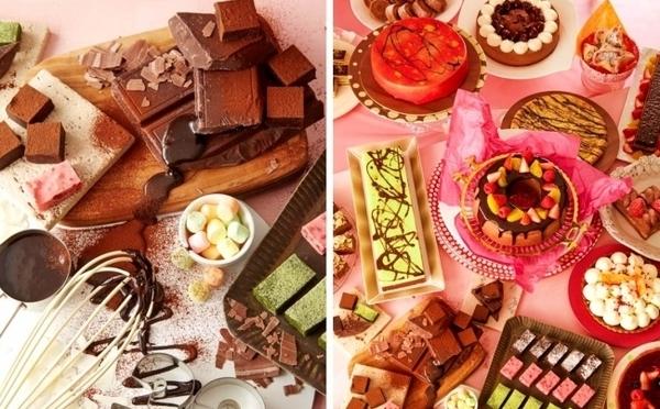 スイーツも軽食もチョコづくし♩サンシャインシティプリンス初開催の「ショコラスイーツフェア」が5月スタート♡