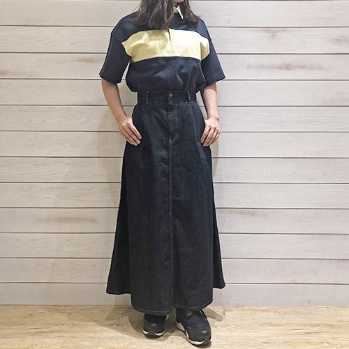 【 #今週のGU新作 】1,990円で買える高見えデニムスカートはこの春GET必須アイテム♡