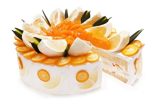個性豊かな3種の柑橘を贅沢に♩カフェコムサに3月22日限定で「3種の柑橘のショートケーキ」が登場
