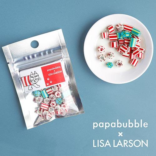 おしゃれなデザインでプレゼントにも良いかも♡パパブブレ×リサ・ラーソンのコラボキャンディが数量限定で登場