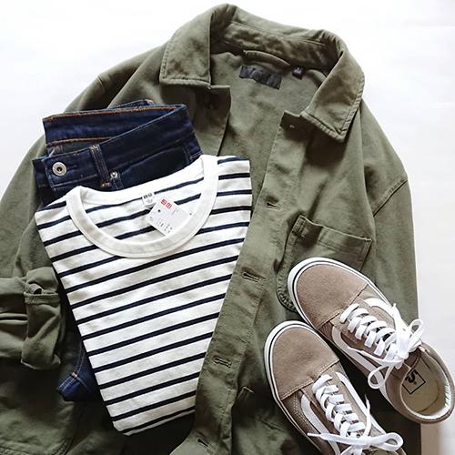 ユニクロのメンズアウターが女の子に人気♡売り切れ前にGETするべき「ジャージーワークジャケット」の着こなし6つ