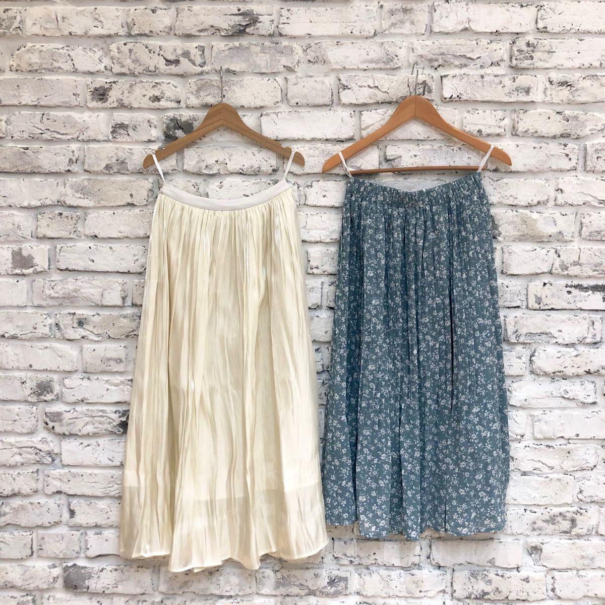 プチプラ通販GRLのスカートは高クオリティなのに2000円♩春コーデを華やかにしたいあなたにおすすめ♡