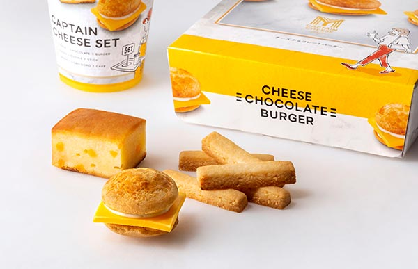 GWのおみやげにも♩西海岸テイストのチーズスイーツブランド「マイキャプテンチーズTOKYO」が東京駅に誕生