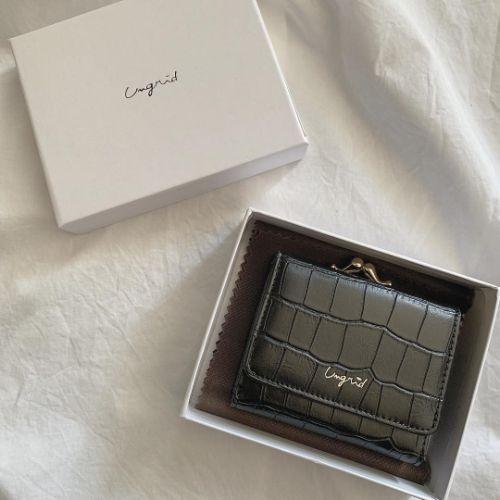 Ungridのミニ財布がいいって噂。自分へのご褒美にもプレゼントにもぴったりなちょうどいい価格帯が嬉しい♩