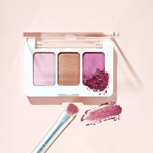 甘くない3色のピンクカラーに一目惚れ♡rms beautyからブランド初のパウダーシャドウパレットが登場