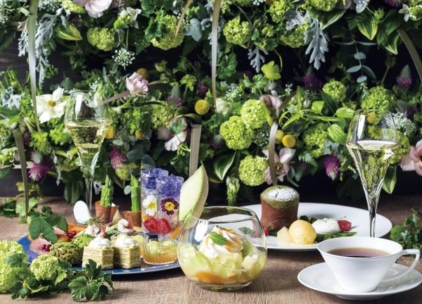 そよ風が心地よいグリーンテラスもお楽しみ♩ヨックモック青山本店にて初夏限定メニューがスタート
