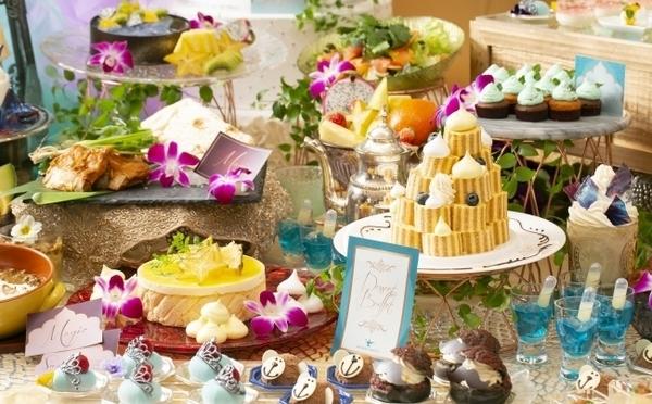 幻想的な「アラジンと魔法のランプ」の世界をイメージ♩サー ウィンストンホテル名古屋の夏ブッフェが6月スタート!