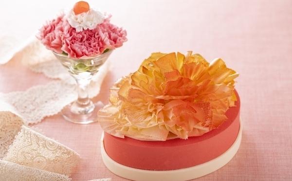 「花よりスイーツ!」なお母さんに贈りたい♩ヒルトン東京、フラワーブーケみたいな母の日ケーキにうっとり♡