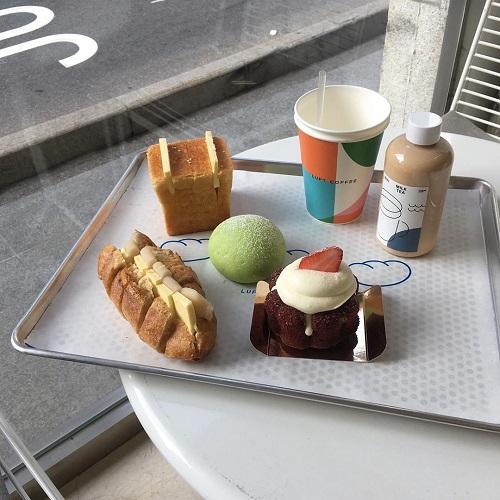 「まる、しかく」のパンが大集合♡おしゃれさんご用達明洞エリアのパン屋「LUFT_coffee」へ必ず行きたい!