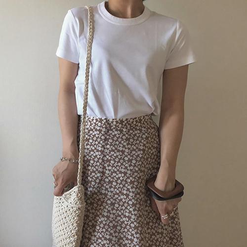 GUの花柄ロングスカートで大人っぽガーリーに♡きれいめからカジュアルまで使える優秀アイテムでした!