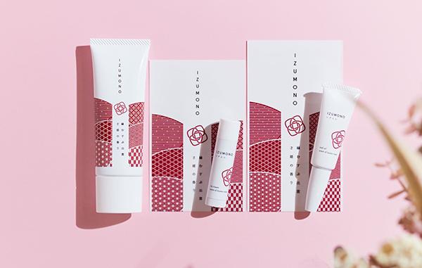 和っぽいパッケージもかわいい♡「縁をむすぶ」がテーマのハンド&リップケアコスメ『IZUMONO』が登場