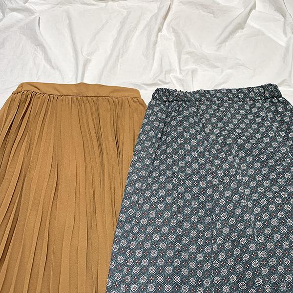 """【 #GUアイテム 】夏と言えば揺れるスカート♡ 1,990円で買える2つの""""高見えスカート""""をピックアップ"""