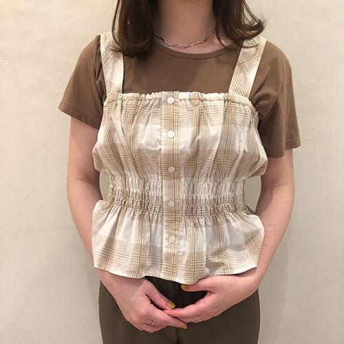 """しまむらの""""ビスチェ×Tシャツ""""はセットで900円というお得さ♡ #しまパト で見つけたおすすめアイテムをピックアップ"""
