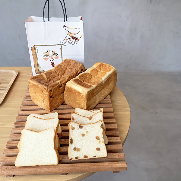 行列の絶えない高級食パン専門店、初のカフェ「このカフェ半端ないって!」が6月9日にグランドオープン