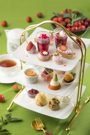 いちご好きさんマストチェック♡シェラトン都ホテル東京「夏いちごのアフタヌーンティー」が7月スタート♩