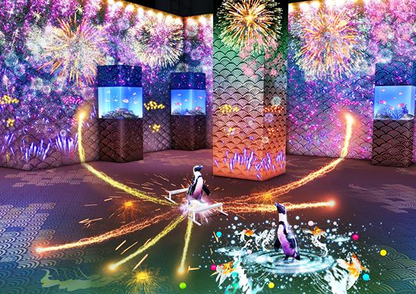 季節や時間で変わる魅力もたっぷり♡マクセル アクアパーク品川に新エリア「パターンズ」がこの夏オープン!