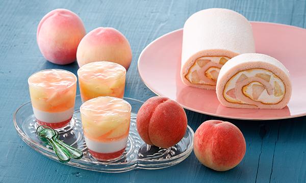 桃やレモン、マンゴーを使ったパティスリー キハチの夏スイーツ♡キハチ カフェにも桃を楽しむメニューが登場
