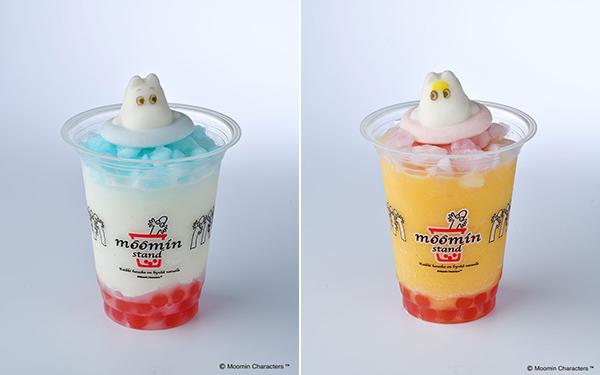 """氷に浮かぶマシュマロがキュート!「ムーミンスタンド」の期間限定フローズンドリンクで""""ムーミンの日""""をお祝い♡"""