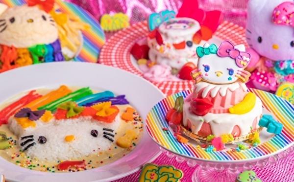 ハローキティ×KAWAII MONSTER CAFE原宿が夢コラボ♡デコラティブなコラボメニューが夏季限定で登場♩