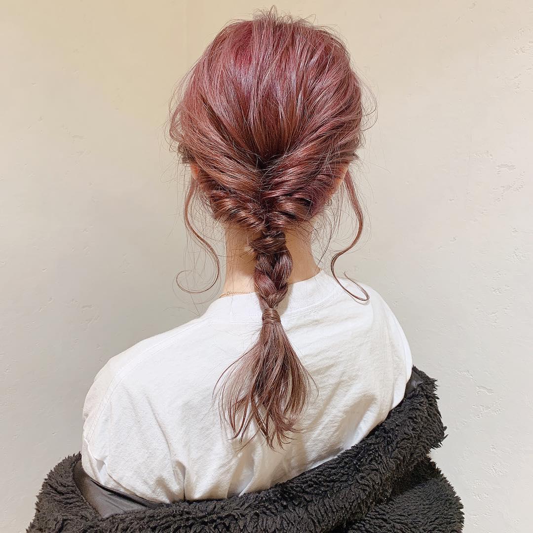 一度はやりたいと思ってた?魅惑の「ピンクヘアー」。後ろ姿もかわいいピンクヘアーにこの夏ぜひ挑戦しよう♡
