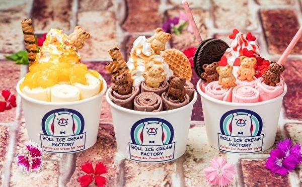 テディベアがちょこんとのったメニューが集結♡ロールアイスクリームファクトリーの夏フェアがスタート!