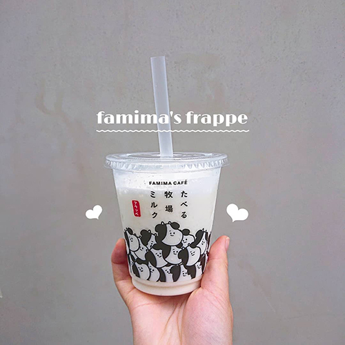 ファミマで人気のアイス「たべる牧場ミルク」がフラッペになって登場!売り切れ前にマストバイ♡