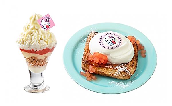 キティちゃんが生クリーム専門店ミルクにやってくる♡キュートなコラボメニューが1か月限定で登場♩