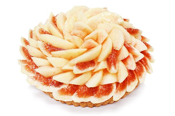"""「カフェコムサ」の""""桃のケーキコレクション""""第2弾が8月スタート♡旬の桃を華やかなケーキで楽しみたい!"""