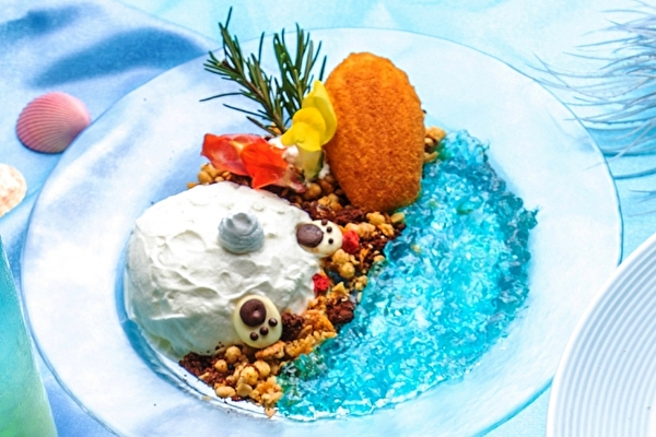 不思議の国の夏は神秘的なマーメイドブルー♡アリスレストランで夏季限定メニューがスタート♩
