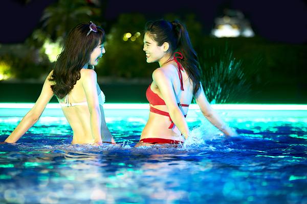 毎日でも行きたい♡行列のできるナイトプール「THE WATER TERRACE」が今年もホテルニューオータニ大阪で開催!