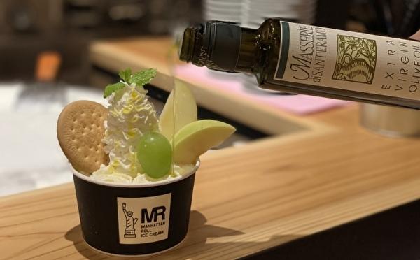 マンハッタンロールアイスクリームが岡山初出店!店舗限定メニューはオリーブオイルで仕上げる大人仕立て♡