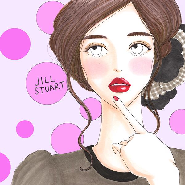 ピュアな表情も大人な表情も作れる。ジルスチュアートの別ライン「My Black Dress」を使った夏の印象別メイクHow To