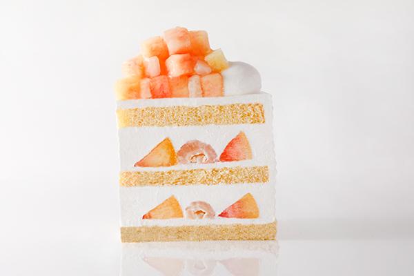 2週間だけの幻ケーキ♡ホテルニューオータニ東京・幕張に「新エクストラスーパーピーチショートケーキ」が登場