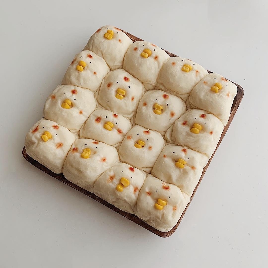 本当にかわいすぎて食べられない…。ちぎりパンをゆる~くアレンジしちゃう「映えちぎりパン」って知ってる?