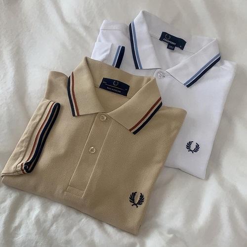 白Tに飽きた人は、ワンロゴポロシャツにシフト!ロゴ刺繍がおしゃれな「FRED PERRY」が今っぽくてかわいい