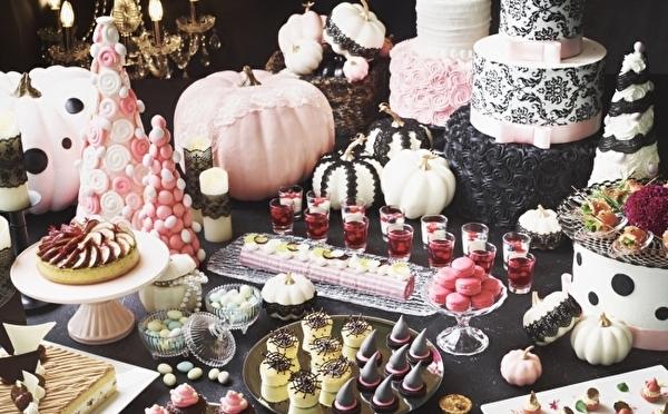 ガーリーなパステルスイーツ&充実のフードメニュー♡秋の食事会はストリングスホテル東京のハロウィンブッフェに決まり!