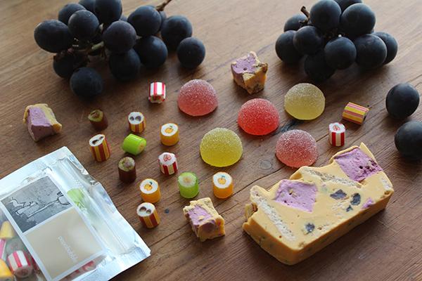 絵柄がキュートなキャンディにカラフルなグミ、チョコレート菓子も。「パパブブレ」の秋スイーツが限定販売