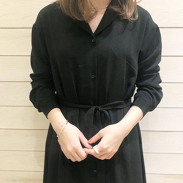 【 #GU新作】オープンカラーが今っぽい♡2wayで着られるワンピースをピックアップ!
