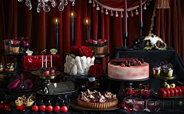 赤×黒のダークファンタジーな世界へようこそ♡リーガロイヤルホテル大阪のハロウィンは大人の「仮面舞踏会」がテーマ!