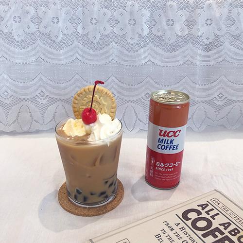 """お家引きこもり女子に捧ぐ。1分で簡単に作れる""""タピオカミルクコーヒーフロート""""で夏気分を満喫して♡"""
