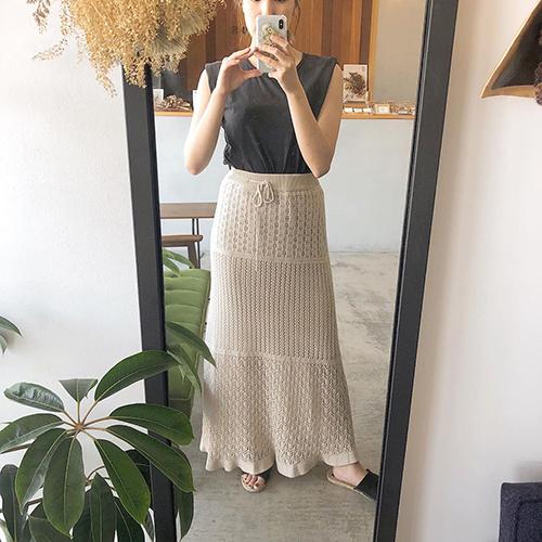 GUの「透かし編みニットスカート」はGET必須♡IGで見つけたおしゃれさんのコーデ5つ