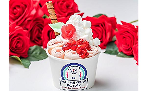 ロールアイスクリームファクトリーが横浜高島屋「アイスワンダーランド」に出店♩イベント限定「赤い薔薇」メニューがステキ♡