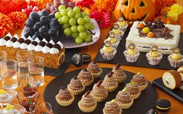 旬の栗×ぶどう×ハロウィーン!ニューオータニ幕張の人気ビュッフェ、秋はお楽しみ満載のパーティーが開催♩