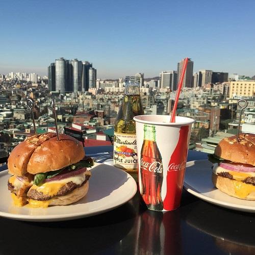 ソウルの絶景を一望できるハンバーガー屋さん「the 100フードトラック」は渡韓する際に要チェックです♡