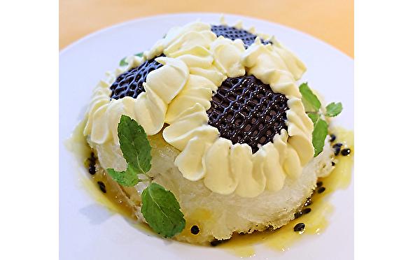 真夏に咲くひまわり畑みたいなかき氷♡チョコレート専門店の10日間限定×1日10食限定のレアメニューがかわいすぎ♩