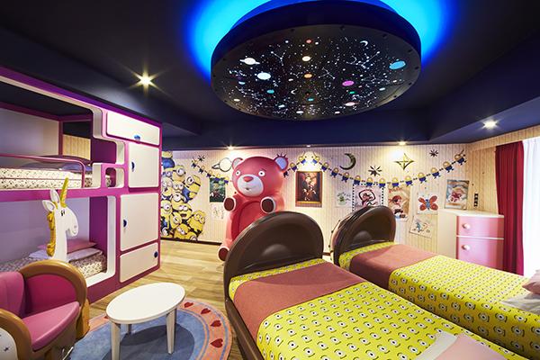 今年のハロウィンはミニオンに囲まれてお泊り女子会♡ホテルユニバーサルポートが「ミニオン・ハロウィン・デコレーション2019」を開催!