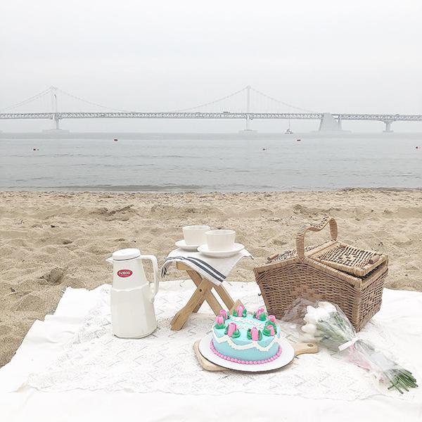 釜山で手ぶらでできちゃう♡準備いらずでフォトジェニックなおしゃピクができるカフェ