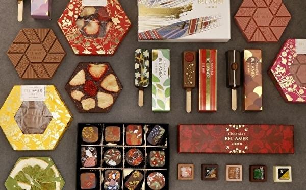 六角形のタブレットチョコもお目見え♩ベルアメール京都別邸、秋冬の新作は京土産にぴったりな美しショコラ♡